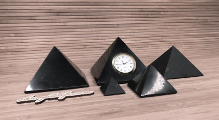 Shungite Pyramids and Shungite Matrix