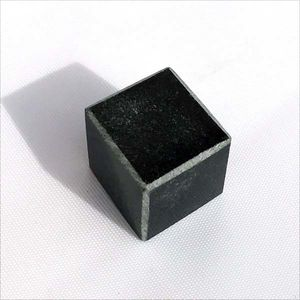 Polished tulikivi cube 20 mm. Soapstone Cubes.