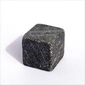 Unpolished tulikivi cube 20 mm. Soapstone Cubes.
